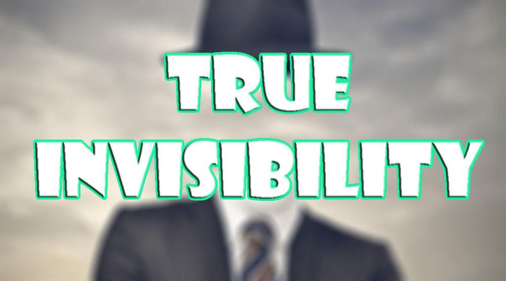 True Invisibility скриншот 1