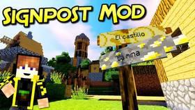 Скачать Signpost для Minecraft 1.11.2