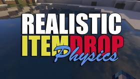 Скачать Realistic Item Drops для Minecraft 1.11.2
