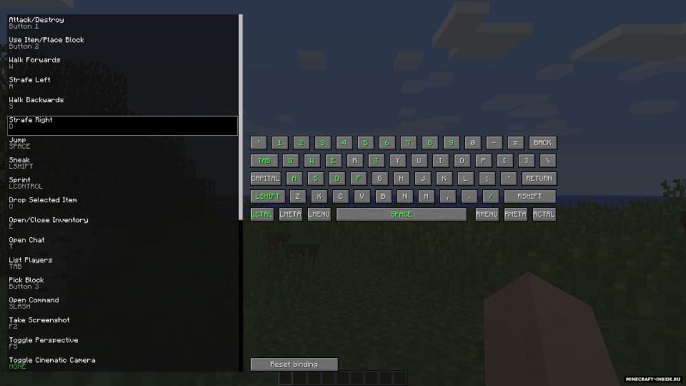 на какую клавишу включить крафт вещей в майнкрафте #8