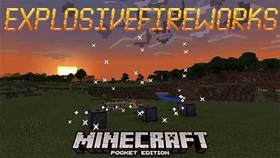 Скачать ExplosiveFireworks для Minecraft PE 1.4