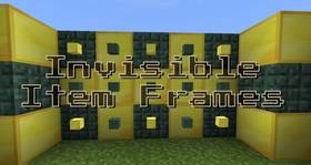 Скачать Invisible Item Frames для Minecraft PE 1.4