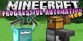 Скачать Progressive Automation для Minecraft 1.11.2
