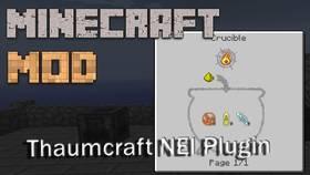 Скачать Thaumcraft NEI Plugin для Minecraft 1.7.10