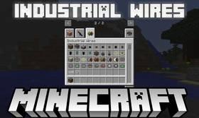 Скачать Industrial Wires для Minecraft 1.12.1