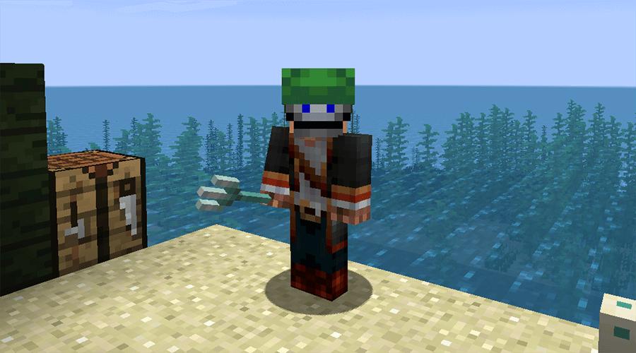 Черепаший шлем в Minecraft 1.13