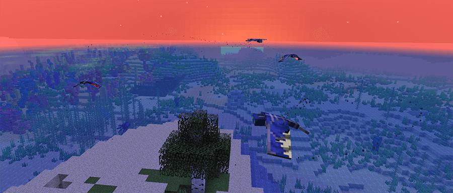 Фантомы в Minecraft 1.13