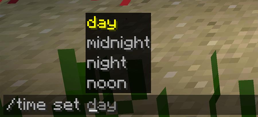 Команды в Minecraft 1.13