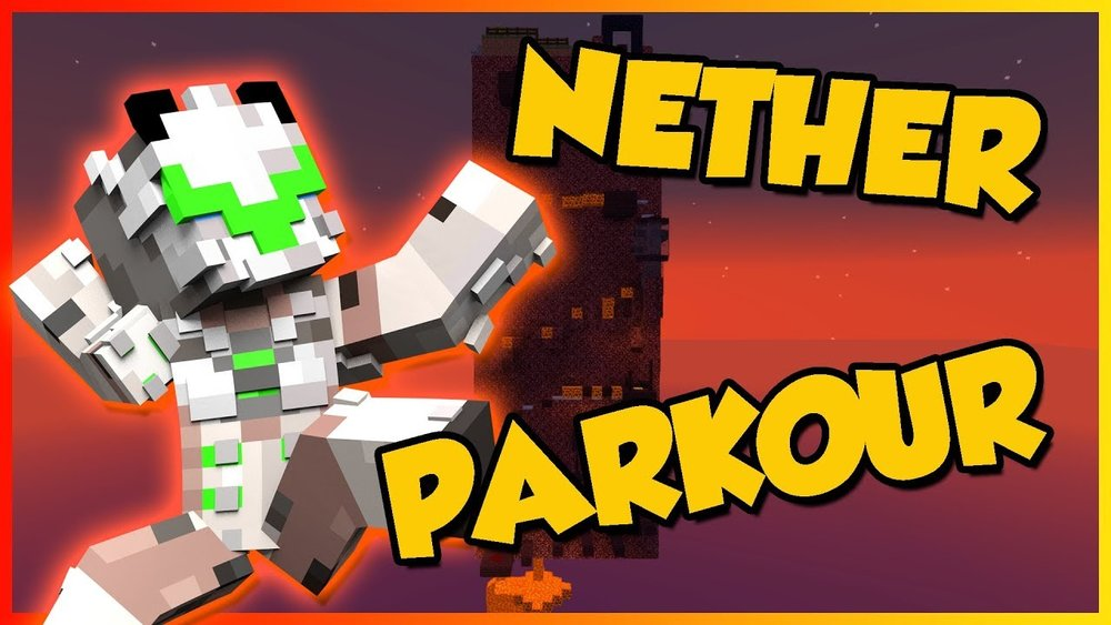 Nether Wall Parkour скриншот 1