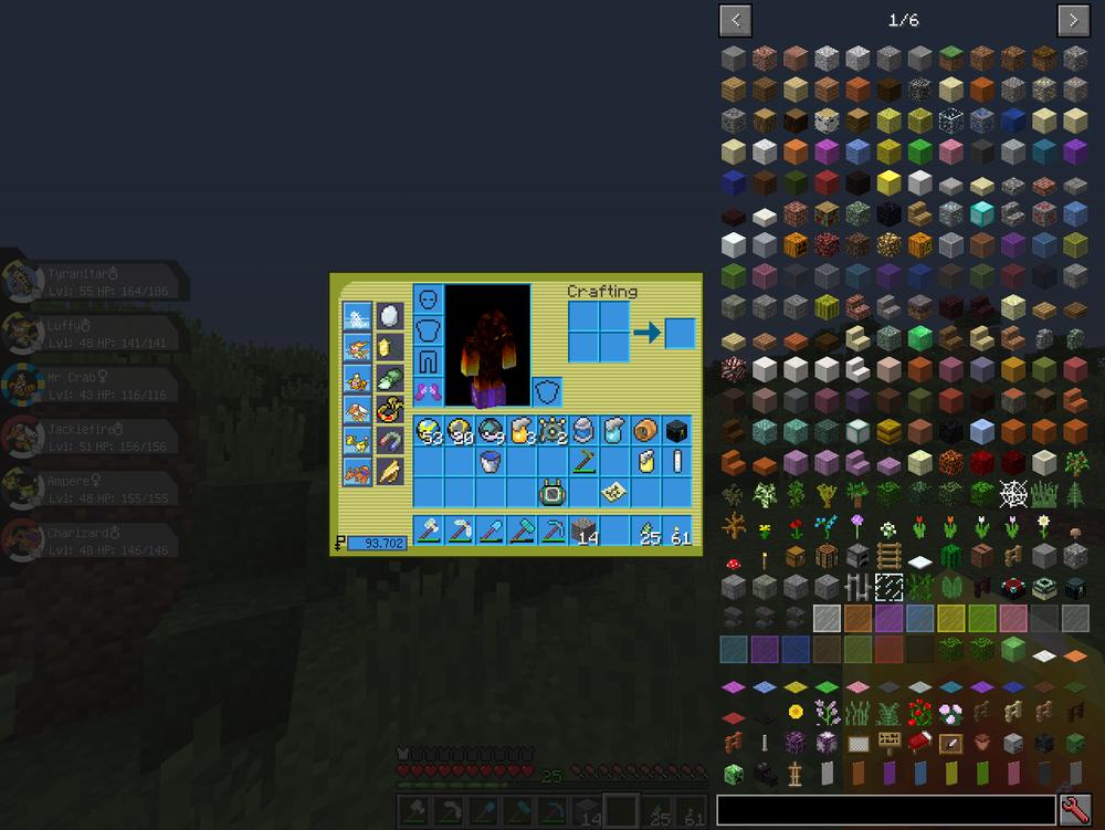 Pixelmon guis - Emerald inspired скриншот 2