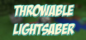 Скачать Throwable Lightsaber для Minecraft PE 1.2