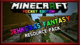 Скачать Jehkoba's Fantasy для Minecraft PE 1.2