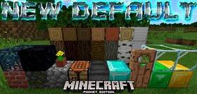 Скачать New Default для Minecraft PE 1.2