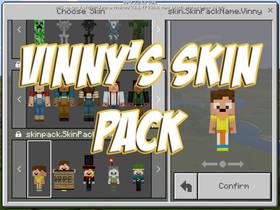 Скачать Vinny's Skin для Minecraft PE 1.2