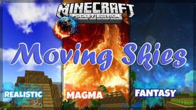 Скачать Moving Skies для Minecraft PE 1.2