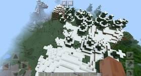 -1532050557: Водопад у спавна | Сид Minecraft PE