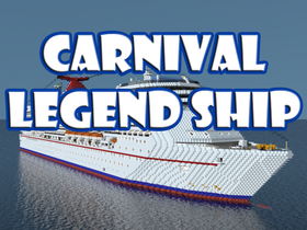 Скачать Carnival Legend Ship для Minecraft 1.12.2