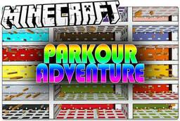 Скачать The Parkour Adventure для Minecraft 1.12.2