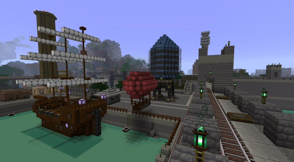 Glimmars Steampunk скриншот 2