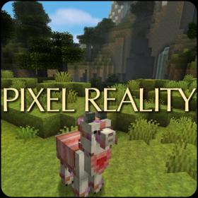 Скачать Pixel Reality JE для Minecraft 1.12.2