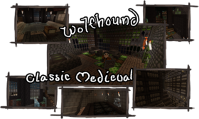 Скачать Wolfhound Classic Medieval для Minecraft 1.12.2