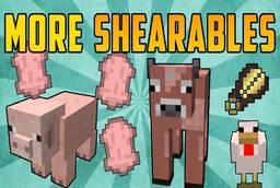 Скачать More Shearables для Minecraft 1.12.2
