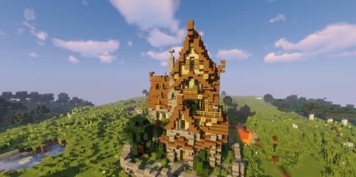 Medium Medieval House скриншот 1