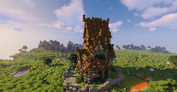 Medium Medieval House скриншот 2