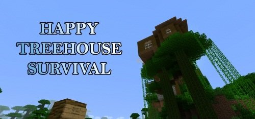 Happy Treehouse Survival скриншот 1