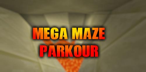 30 Mega Maze Parkour скриншот 1