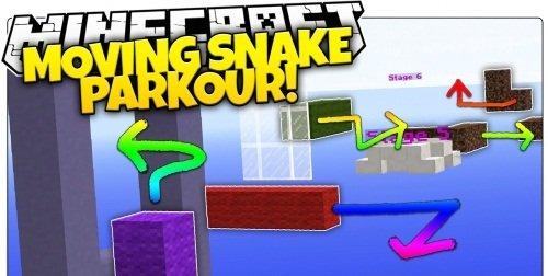 Moving Snake Parkour скриншот 1