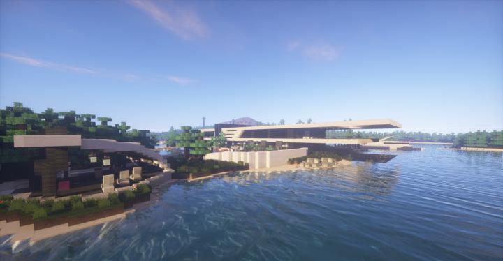 RedTech Modern Island House скриншот 2