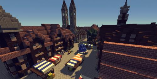Old medieval city скриншот 1