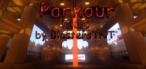 Parkour map by BlastersTNT скриншот 1