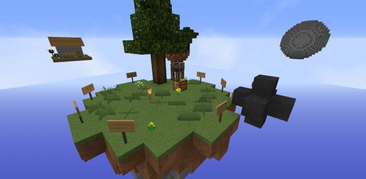 SkyBlock by xXxJIekapbxXx скриншот 1