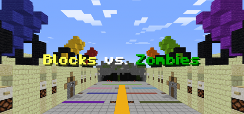 Blocks vs. Zombies скриншот 1