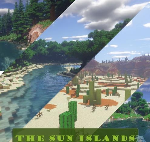 The Sun Islands скриншот 1