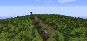 Скачать Ведьмина деревня для Minecraft 1.7.10