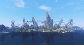 Скачать A Fantastic Futuristic Park для Minecraft 1.13.2