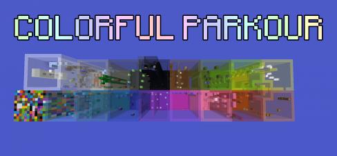 Colorful Parkour скриншот 1