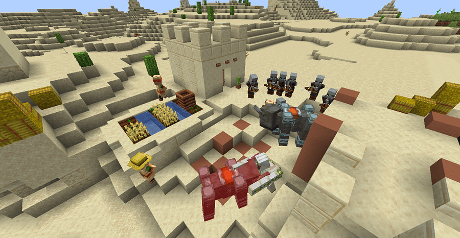 3 Скриншот Minecraft 1.14
