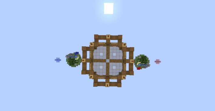 SkyBlock Battle скриншот 1