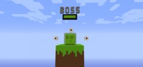 Скачать Босс - Слайм для Minecraft 1.12.2