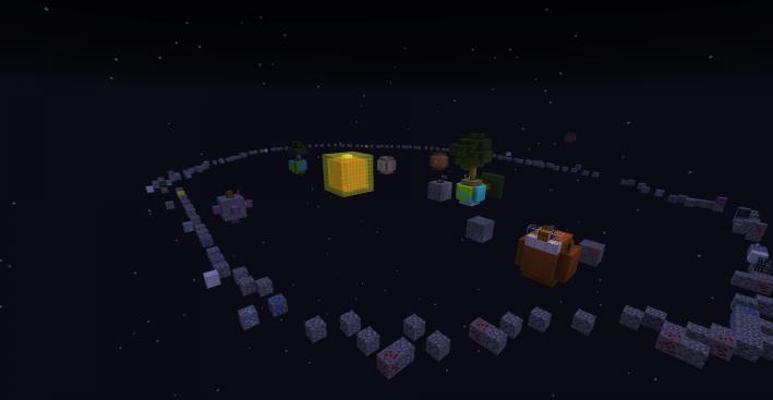 SkyBlock: SolarSystem скриншот 2