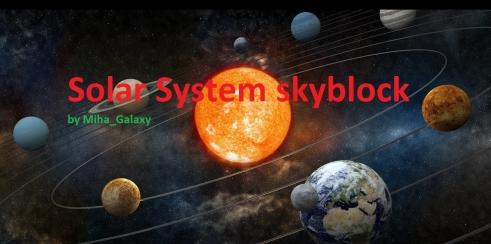SkyBlock: SolarSystem скриншот 1