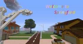 Скачать Welcome to Springfield для Minecraft 1.8.9