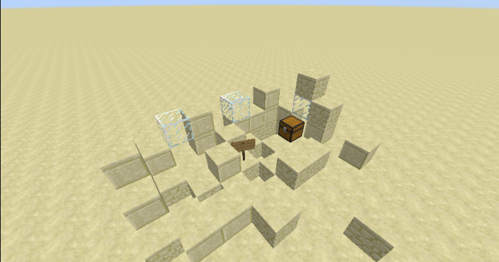 Выживание в плоской пустыне скриншот 2