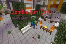 Скачать Zombie Run (City) для Minecraft 1.12.2