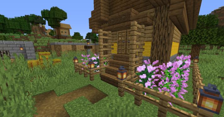 Улучшенная деревня скриншот 2