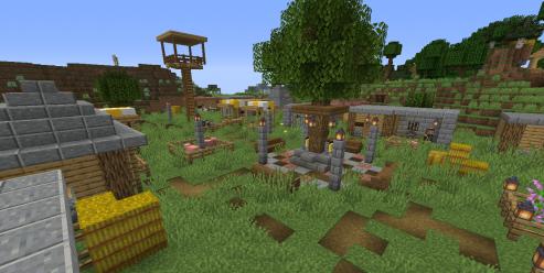 Улучшенная деревня скриншот 1